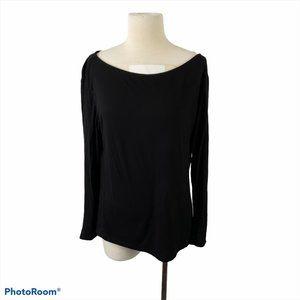 4/$30 🌿H&M Black Scoop Neck Long Sleeve Shirt